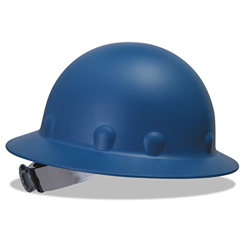 Fibre-Metal 280-P1ARW71A000 P1A Hard Hats, SuperEight, 8-Point Ratchet, Full Brim, One Size, Blue ()