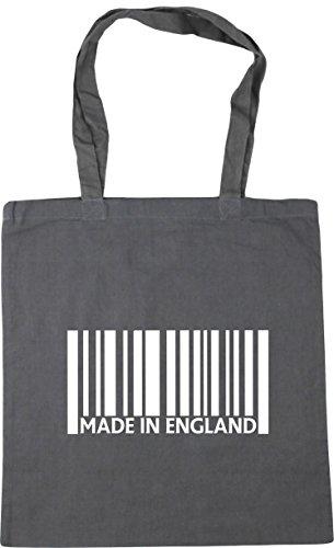 Made HippoWarehouse Graphite x38cm litres Beach England in Shopping 42cm Grey Gym Tote Bag 10 6RqR7ad