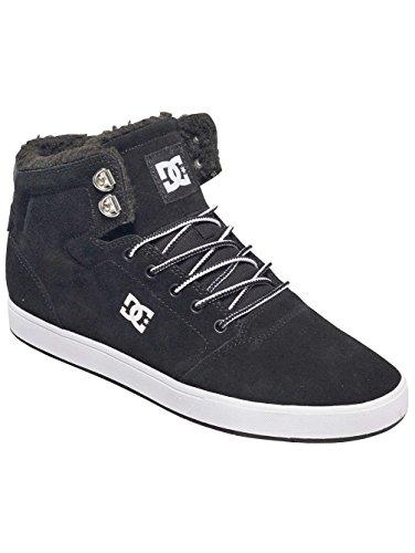 DC Crisis High - Zapatillas de skateboarding Unisex adulto blanco/negro