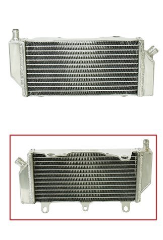Outlaw Racing OR4511L Radiator Left Side-Dirt Motorcycle Yamaha YZF250 YZF450 ()