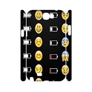 Emoji Custom 3D Durable Case Cover for Samsung Galaxy Note2 N7100 by Nickcase