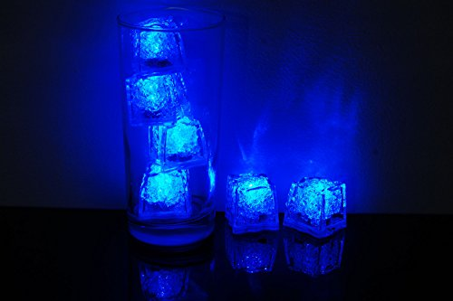 Glowing Ice Cubes - Litecubes Brand 3 Mode Blue Light