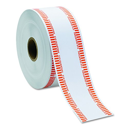 tomatic Coin Rolls, Quarters, $10, 1900 Wrappers per Roll ()