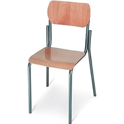 Sedia In Legno Per Scuola Media In Legno da Banco per Alunni: Amazon ...