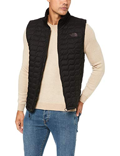 The North Face NF0A3KTW Men's Thermoball Vest, TNF Black Matte - L (Bionic Mens Vest)