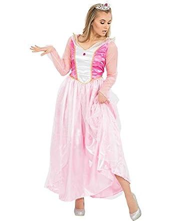 Rosa Marchen Prinzessin Kleid Kostum Karneval Fasching Verkleidung