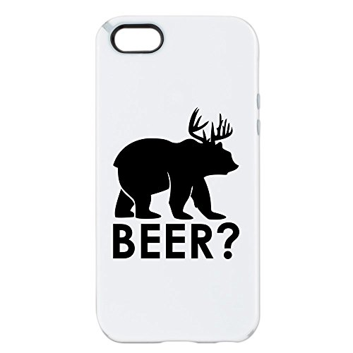 iPhone 5 or 5S Tough Candy Case Deer Plus Bear Equals BEER!