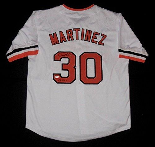 Dennis Martinez Signed Jersey - Custom) - Coa! - JSA Certified - Autographed MLB Jerseys