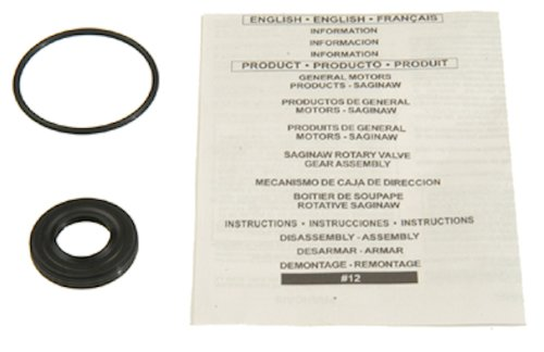 Edelmann 8777 Power Steering Gear Box Input Shaft Seal Kit (Steering Seal)