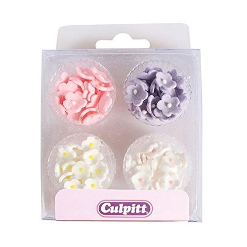 Price comparison product image Mini Flowers - Assorted Colours - 100 pack