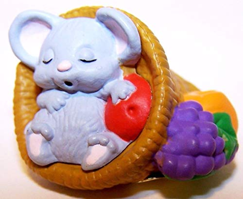 (HMK Mouse in a Cornucopia 1988 Halloween Merry Miniature)