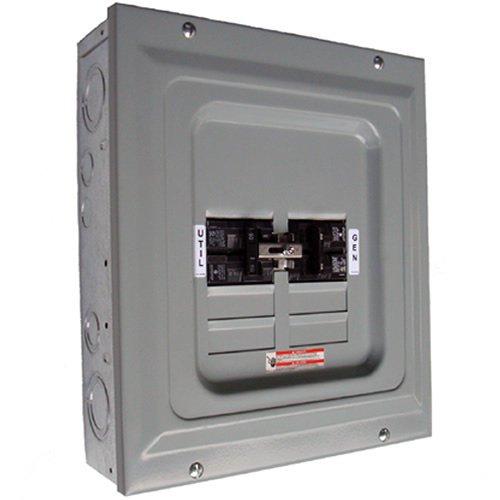 Generac 6334 100-Amp Manual Transfer Switch Single Load for Portable Generators by Generac