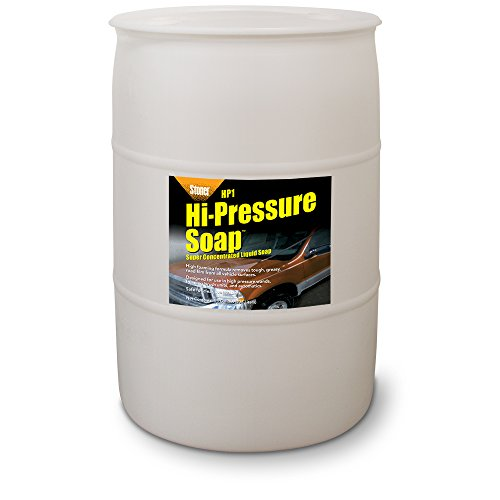 Stoner Car Care 91248 Hi-Pressure Super Concentrated Soap, 55 gallon by Stoner Car Care