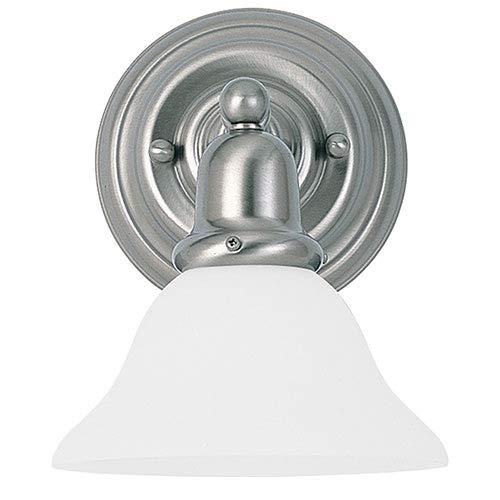 Sea Gull 49063BLE-962 Sussex Bathroom Vanity Light, Brushed Nickel ()