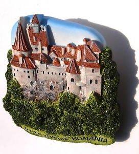 High Quality Resin 3d Fridge Magnet Draculas Transylvania Romania Bran Castle