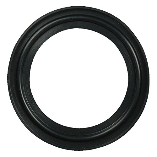 Buna Sanitary Tri-Clamp® Gasket, Black - 6