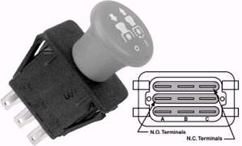 - SCAG COMMERCIAL LAWN MOWER PTO SWITCH 481687 483162 483957 27328 NEW OEM, New, Free Shipping