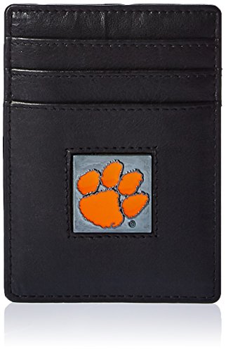 Siskiyou Sports (CCH100-Parent) NCAA Clemson Tigers Leather Money - Ncaa Card Tigers Credit