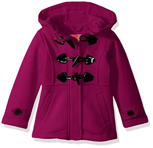 - Pink Platinum Baby Girls Fleece Toggle Jacket, Berry, 24M
