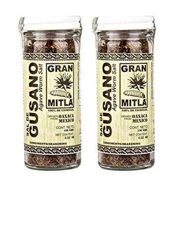 Gran Mitla Sal de Gusano 100 Gram Jar (2 Pack) ()