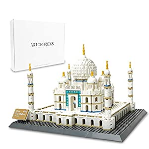 ArtorBricks Architectural Taj Mahal Large Collection Building Set Model Kit and Gift for Kids and Adults , Compatible…