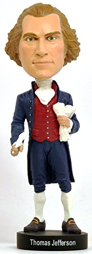 Accessory Collection Jefferson - Royal Bobbles Thomas Jefferson Bobblehead