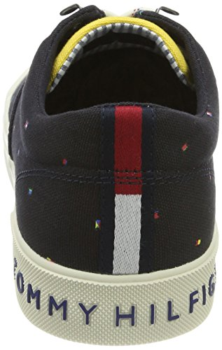 Midnight Bleu Sneakers Y2285armouth Homme Hilfiger 1e2 Basses Tommy Zqn0YPww