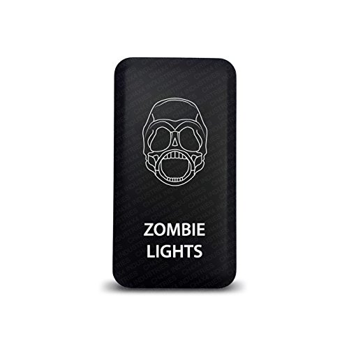 CH4X4 Push Switch for Toyota Zombie Lights Symbol 9 Red Led