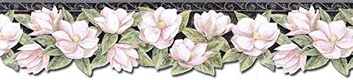 壁紙 ボーダー - 花のプリペーストされた壁枠 PT24024B