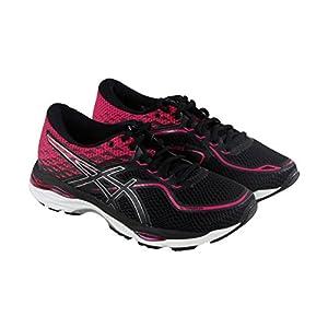 ASICS Women's Gel-Cumulus 19 Running Shoe, Black/Silver/Ink Peacoat, 11 Medium US