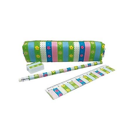 Set Estuche Portatodo + 3 Complementos Nylon Cremallera PVC ...