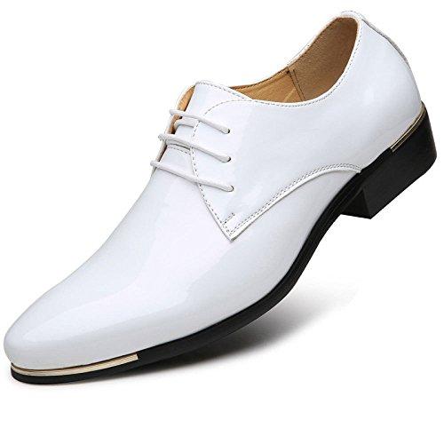 da White Casual da Scarpe da Uomo Uomo Pelle Scarpe Scarpe Pelle Bianche in in Uomo A68dq