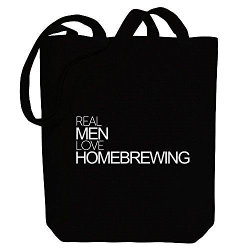 Real Idakoos Hobbies Tote Bag love Idakoos Homebrewing Real Canvas men qw1CEEpa