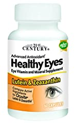 Healthy eyes lutein and zeaxanthin is an advanced antioxidant formula containing essential vitamins and minerals plus lutein and zeaxanthin in amounts to support healthy eye function. Lutein and zeaxanthin are high potency phytonutrients with antioxi...