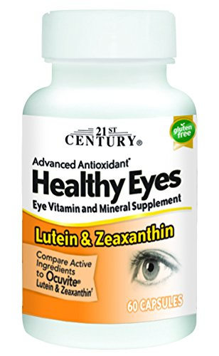 21st Lutein Capsules, 60 Count