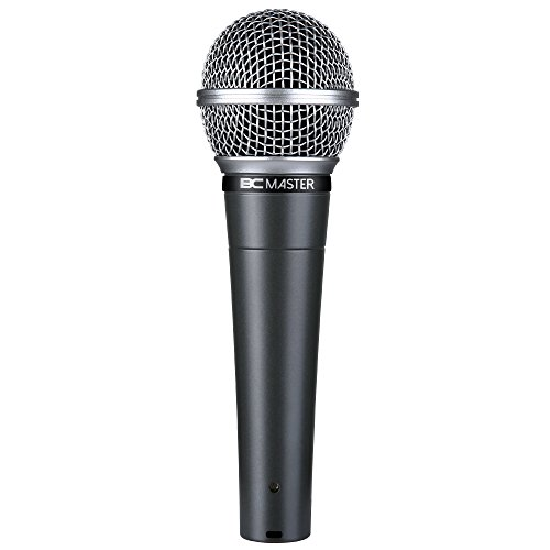 BC Master karaoke Microphone, Dynamic Microphone, Xlr Microphone For open-mic, Singing, Speech, Presentation ( Two-years warranty )
