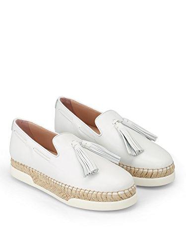 Tod's XXW96A0Y451JUSB001 Cuir Femme De Blanc Skate Chaussures rHxfrqRw8