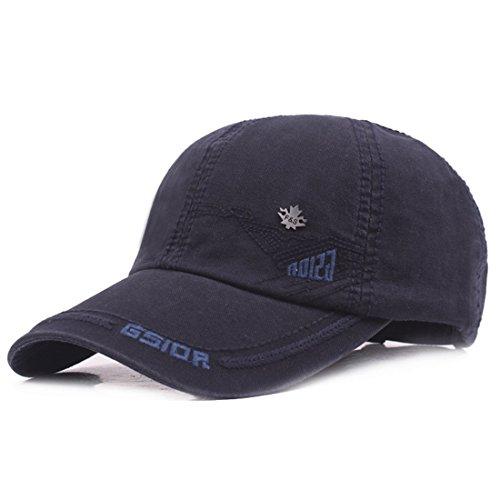 béisbol de marino Gorra Hombre Kuyou para azul qwPF7E