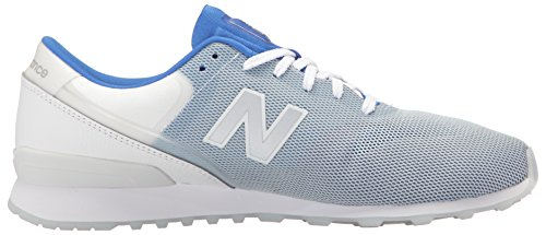 New Balance Dames 696 Re-ontworpen Lifestyle Fashion Sneaker Blauw / Wit