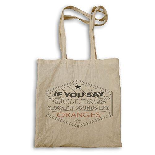 Arancione Mano Divertente Creduloni Borsa Suona V764r q4AxtIw