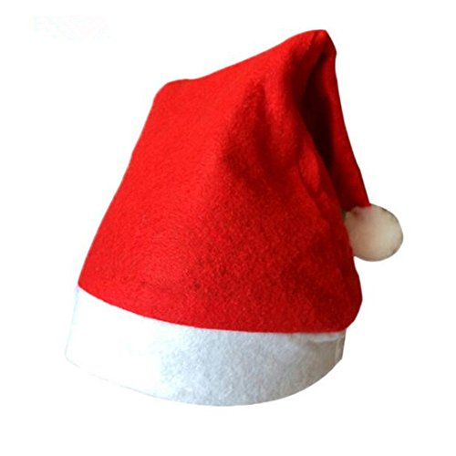 Christmas Hats For Kids Bulk,6 Pieces Sets,Santa Claus Holiday Fancy Dress Red Hat (Cristmas Songs For Kids)