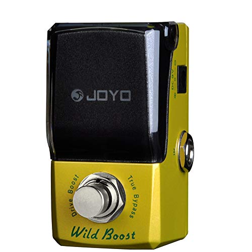 JOYO JF-302 Wild Boost Guitar Effect Pedal, Overdrive Effect Pedal, Single Effect, True Bypass Design (10 Best Overdrive Pedals)