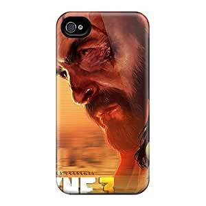 New Style Tpu 4/4s Protective Case Cover/ Iphone Case - 2012 Max Payne 3