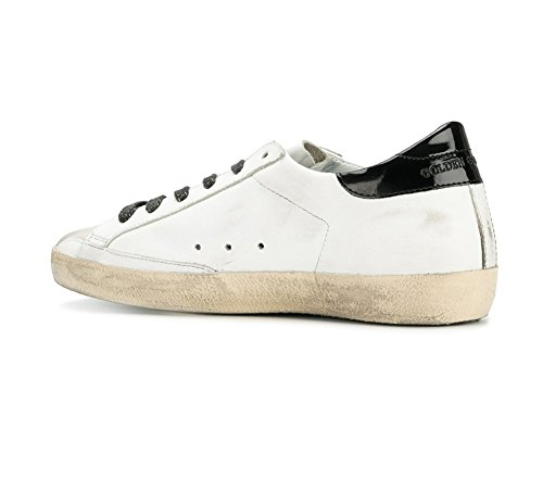 ... Golden Goose Deluxe Splitter Kvinner Super Low Top Sneakers Hvit  Krokodillen Stjerners G31ws590c66 (whoosso) ...