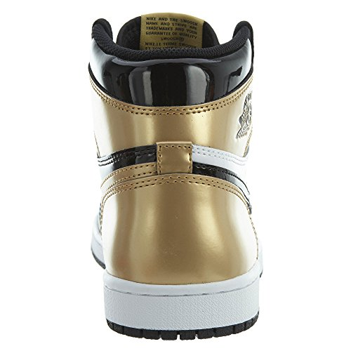 High Retro Black Sneaker Jordan Schuhe OG 1 Black Air Gold Metallic NRG Etwzqza