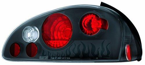 IPCW CWT-CE339CB Crystal Eyes Bermuda Black Tail Lamp - Pair