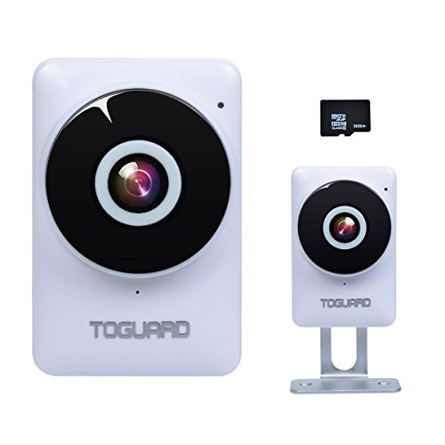 Überwachungskamera, HD 720P wlan IP Kamera drahtlos Wifi Audio Mit 32GB Karte
