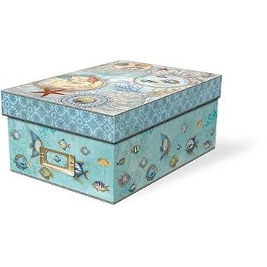 Punch Studio Seascape Decorative Photo Storage Box
