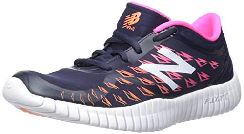 New Balance Women's Flexonic WX99V2 Training Cross-Trainer Shoe Pigment/Alpha Pink