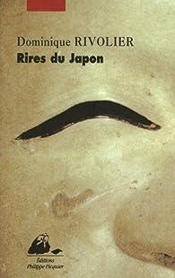 Rires du Japon par Dominique Rivolier